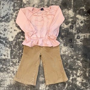 2/$25 Baby Gap Girls Outfits. 4 Pieces. 12-18M